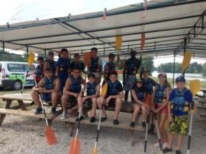 Photo Camp Ados Marnay - Eté 2015